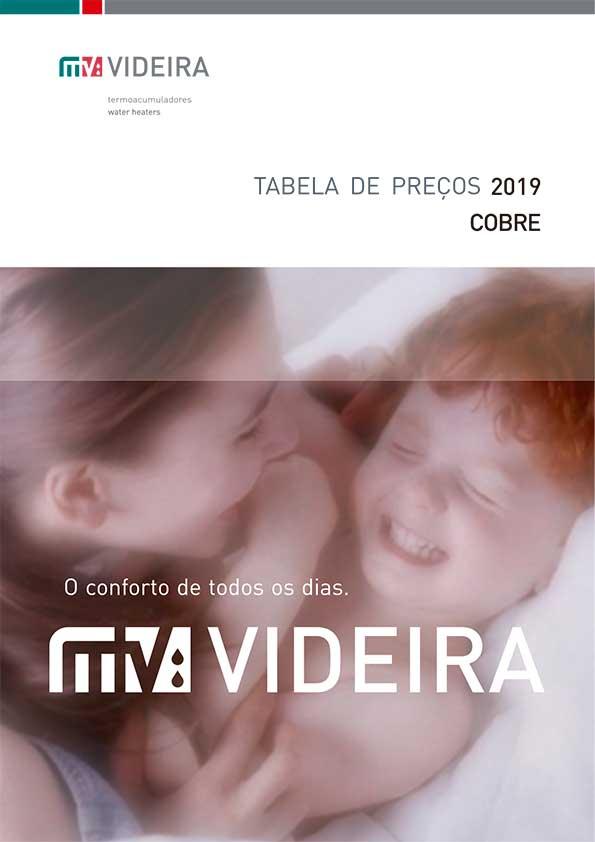 Videira - Tabela 2019 Cobre