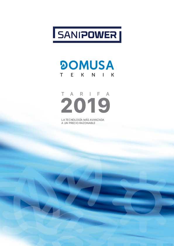 Domusa Tabela 2019