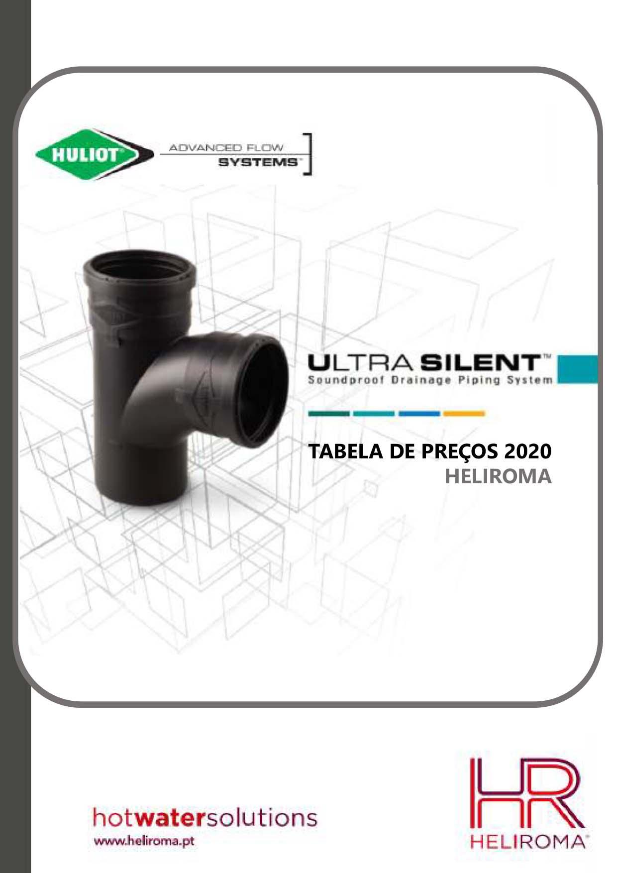 Heliroma Ultra Silent - Tabela de Preços