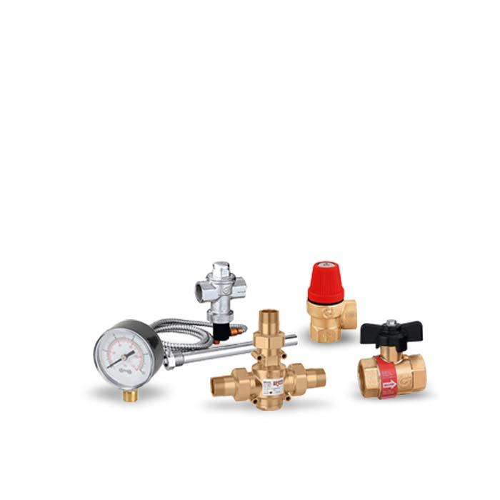 Kit Componentes Segurança P/Caldeira