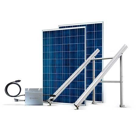 Proteu® Kit Fotovoltaico T.Plano 2 Paineis Autoconsumo