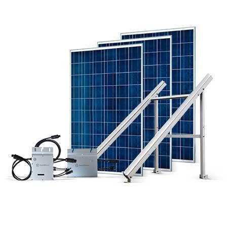 Proteu® Kit Fotovoltaico T.Plano 3 Paineis Autoconsumo