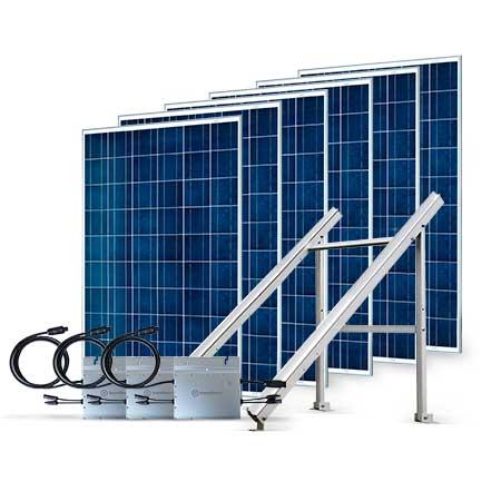 Proteu® Kit Fotovoltaico T.Plano 6 Paineis Autoconsumo