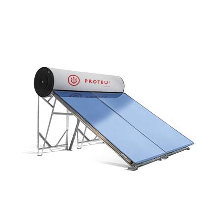 Proteu® Kit Termosifão Solar Acumulador Inox 2 Paineis