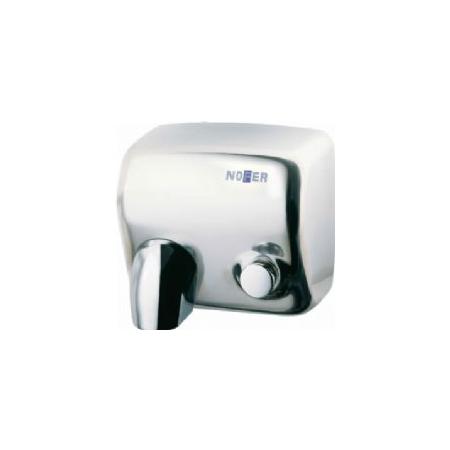 Secador de Mãos Ciclon Pulsador Carcasa Aço Inox Brilhante