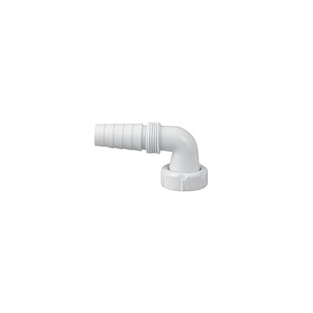 """Jimten® A-70 Curva Ligação Eletrodomésticos C/ Porca 1"""""""