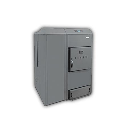 Domusa® Caldeira Pellets/Lenha Dual Therm